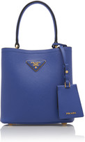 Prada Small Saffiano Leather Double Bucket Bag