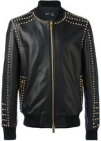 Blood Brother Guinness exclusive Raised leather jacket - men - Leather - M