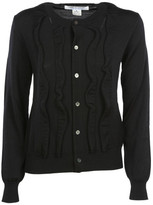 Comme des Garcons Ruffled Cardigan