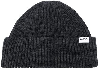 A.P.C. Ribbed Knit Hat