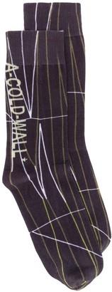 A-Cold-Wall* Graphic-Jacquard Socks