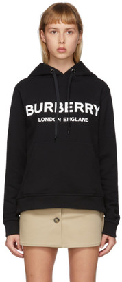 Burberry Black Logo Hoodie