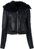 Rick Owens panelled jacket