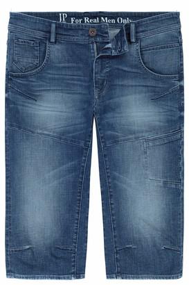 JP 1880 Men's Big & Tall Denim Bermuda Shorts Blue Stone 64 720226 91-64