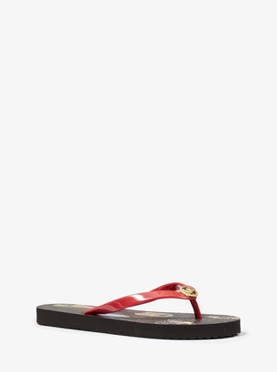 MICHAEL Michael Kors Jet Set Girls Flip Flop