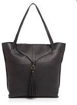 Foley + Corinna Arrow Python-Embossed Tote