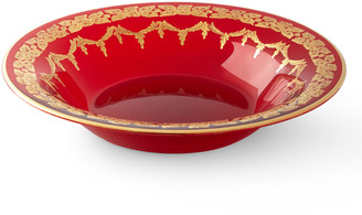 Neiman Marcus Red Oro Bello Soup Plate, Set of 4