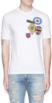 DSQUARED2 Badge appliqué T-shirt