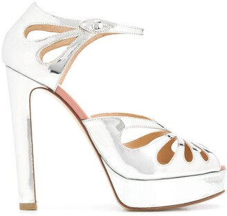 Francesco Russo Strappy Platform Sandals