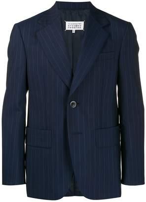 Maison Margiela striped long sleeves blazer