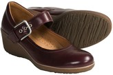 Ecco @Model.CurrentBrand.Name Shiver Leather Wedge Shoes - Mary Janes (For Women)