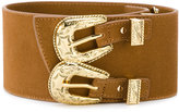 B-Low the Belt double buckle western belt - women - Leather - S