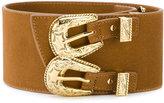 B-Low the Belt double buckle western belt