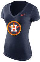 Nike Women's Houston Astros BP V-Neck T-Shirt