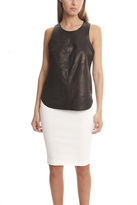 Rag & Bone Crete Leather Tank
