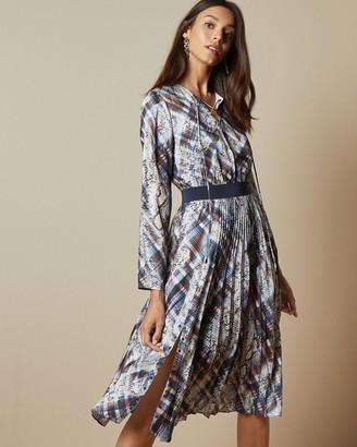Ted Baker LILIS Quartz print midi dress