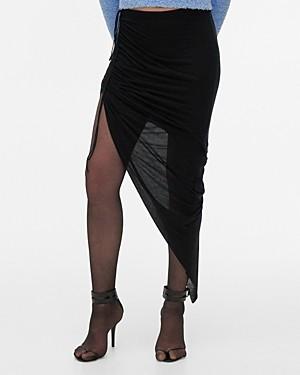 Helmut Lang Drawstring Skirt