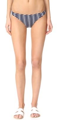 Shoshanna Women's Tortola Stripe Classic Bikini Bottom