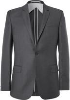 Kilgour - Charcoal Slim-fit Super 110s Wool Suit Jacket