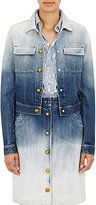 Tomas Maier Women's Ombré Denim Jacket-NAVY