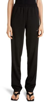 Balenciaga Logo Stripe Track Pants