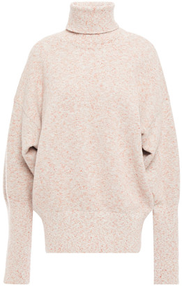Victoria Beckham Marled Knitted Turtleneck Sweater