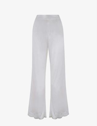 Agent Provocateur Amelea stretch-silk pyjama bottoms