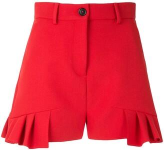 MSGM Frill Trim Shorts
