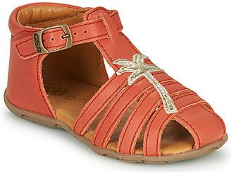 GBB ANAYA girls's Sandals in Red