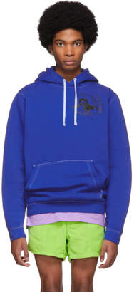 Nike Erl ERL Blue Edition Witch 1 Hoodie