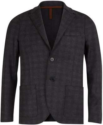 Harris Wharf London Checked blazer
