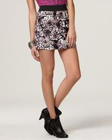 More brands Free People Skirt, Ray of Light Floral Miniskirt