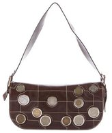 Celine Coin-Embellished Shoulder Bag