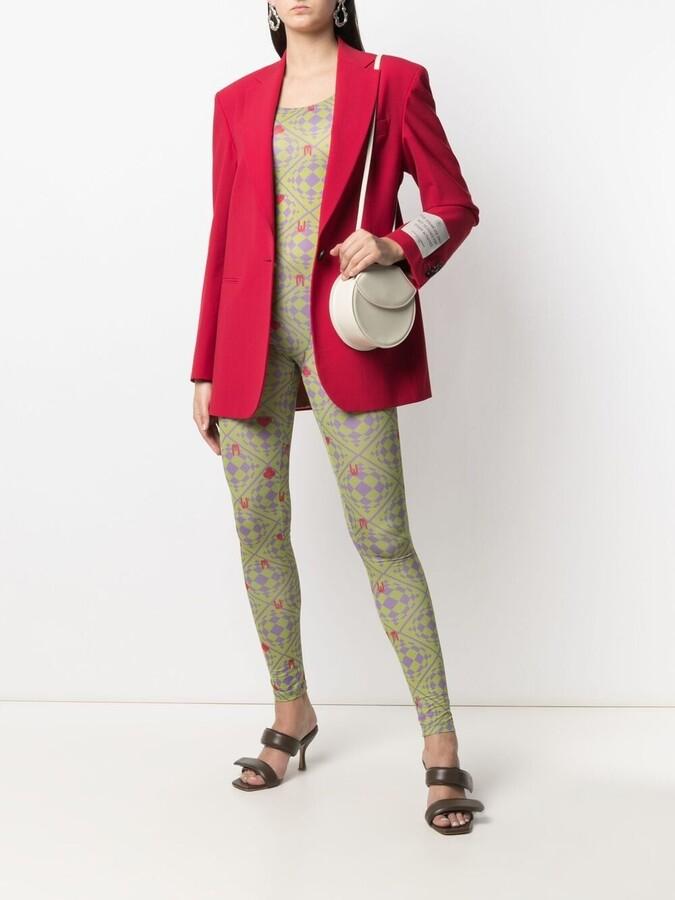 Thumbnail for your product : MAISIE WILEN Revenge Body orbit-print jumpsuit