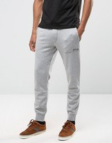 Polo Ralph Lauren Regular Fit Logo Cuffed Jogger In Grey