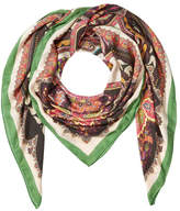 Etro Printed Scarf with Cashmere