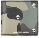 Alexander McQueen Billfold 8 wallet - men - Leather - One Size