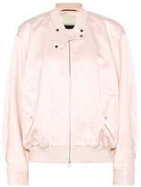 By Malene Birger Sanicas satin bomber jacket