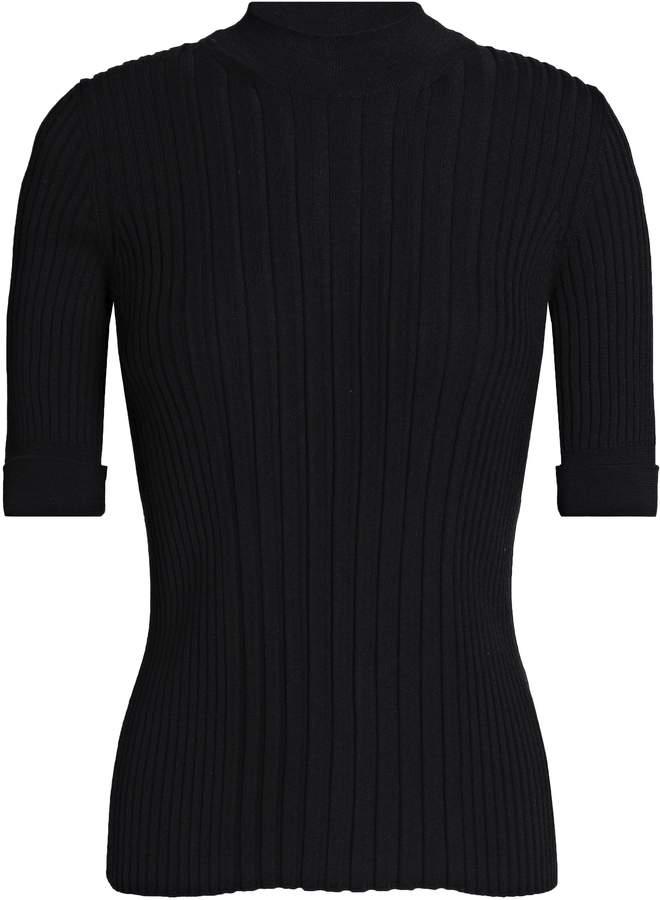 Maison Margiela (メゾン マルジェラ) - メゾン マルタン マルジェラ メランジ リブ編み ウール セーター