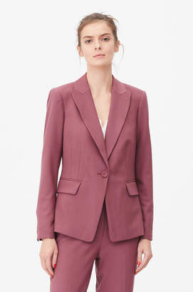 Rebecca Taylor Tailored Gabardine Suiting Jacket
