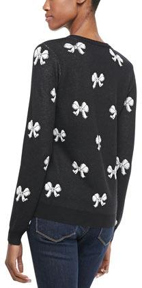 Joie Valera Bow-Pattern Sweater