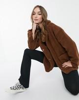 Thumbnail for your product : Brave Soul kelsea borg coat