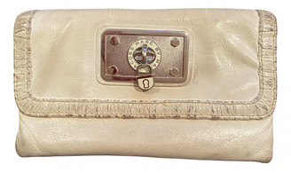 Marc by Marc Jacobs White Leather Wallets