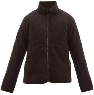 Snow Peak Zip Through Technical Fleece Jacket - Mens - Black
