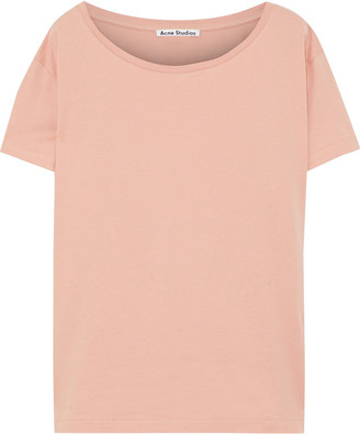 Acne Studios Eldora E Base Cotton-jersey T-shirt
