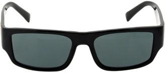Versace Medusa Logo Squared Acetate Sunglasses