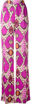 Etro geometric print palazzo trousers - women - Viscose - 40