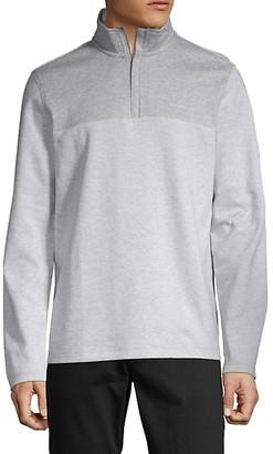 Calvin Klein Logo Cotton-Blend Sweatshirt