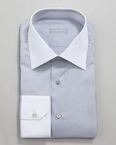 Stefano Ricci Contrast Collar Button-Down Shirt