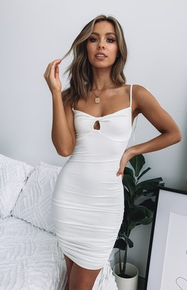 Beginning Boutique Bad Guy Mini Dress White